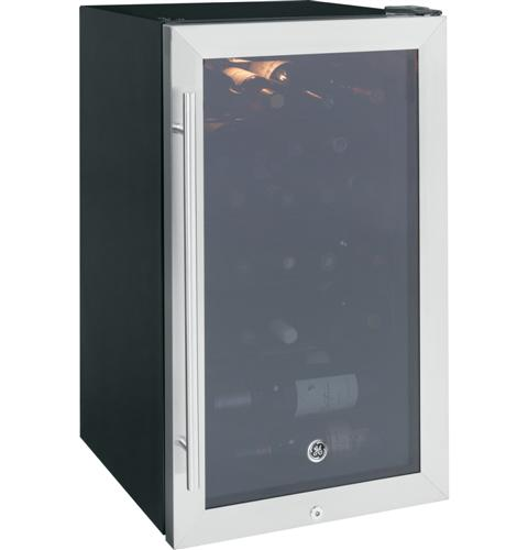 GE GWS04HAESS Wine Center - Stainless Steel - Wine Cooler - GE - Topchoice Electronics