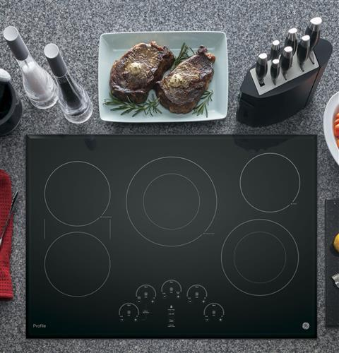 "GE PROFILE 30"" Built-In Touch Control Electric Cooktop - Cooktop - GE Profile - Topchoice Electronics"