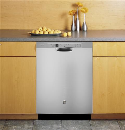 GE Profile PDF820SSJSS Stainless Steel Interior Dishwasher with Front Controls - Stainless Steel - Dishwasher - GE Profile - Topchoice Electronics