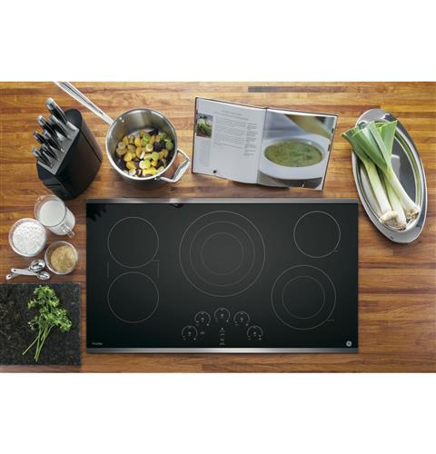 "GE PROFILE PP9036SJSS 36"" Built-In Touch Control Cooktop - Stainless Steel - Cooktop - GE Profile - Topchoice Electronics"