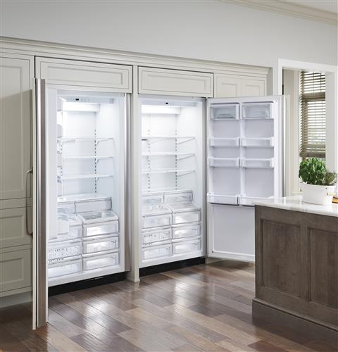 "Monogram ZIRS360NNLH 36"" Built-In All Refrigerator in Stainless Steel"