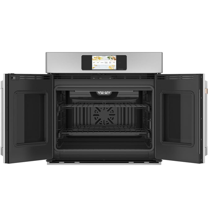 "GE Cafe CTS90FP2NS1 Professional Series 30"" Smart Built-In Convection French-Door Single Wall Oven"