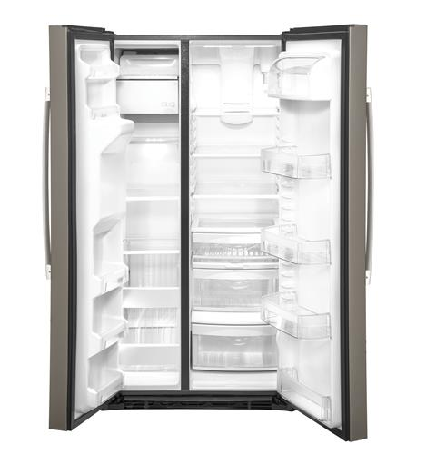 GE GSS25IMNES 25.1 Cu. Ft. Side-By-Side Refrigerator in Slate