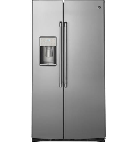 GE CAFÉ CZS22MSKSS 21.9 Cu. Ft. Counter-Depth Side-By-Side Refrigerator - Stainless Steel - Refrigerator - GE CAFE - Topchoice Electronics
