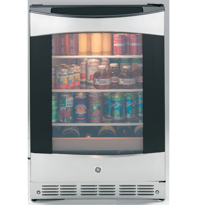 GE Profile PCR06BATSS 12-Bottle Beverage Cooler In Stainless Steel
