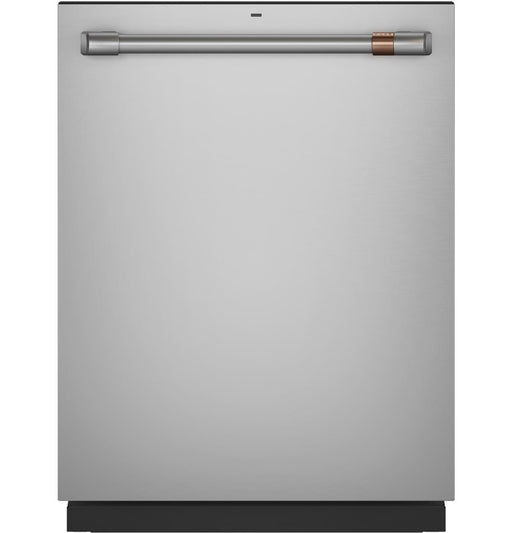GE Cafe CDT845P2NS1 Stainless Interior Built-In Dishwasher with Hidden Controls in Stainless Steel