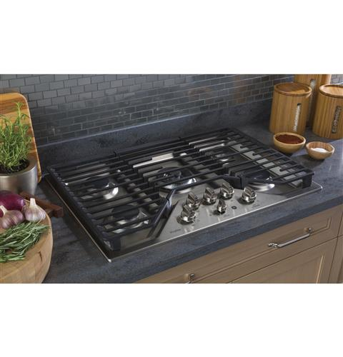 "GE PROFILE PGP9030SLSS 30"" Built-In Gas Cooktop - Stainless Steel - Cooktop - GE Profile - Topchoice Electronics"