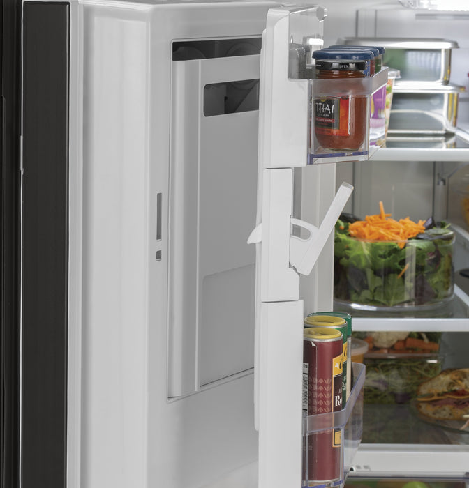 GE Cafe GFE26JBMTS Energy Star 25.6 Cube Feet French-Door Refrigerator