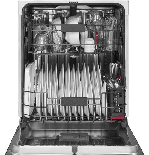 GE Café™ Series CDT835SSJSS Interior Built-In Dishwasher with Hidden Controls in Stainless Steel - Dishwasher - GE CAFE - Topchoice Electronics