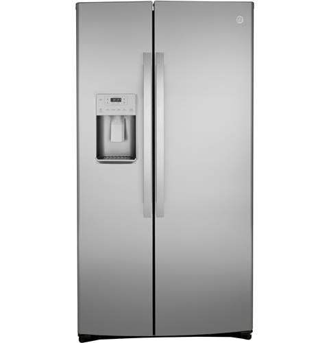 GE GZS22IYNFS 21.8 Cu. Ft. Counter-Depth Side-By-Side Refrigerator