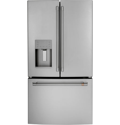 GE Cafe CFE26KP2NS1 36-Inch Energy Star 25.6 Cu. Ft. French-door Refrigerator In Stainless Steel