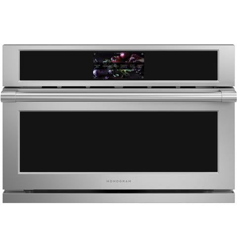 "Monogram ZSB9232NSS 30"" Smart Five in One Wall Oven with 240V Advantium® Technology in Stainless Steel"