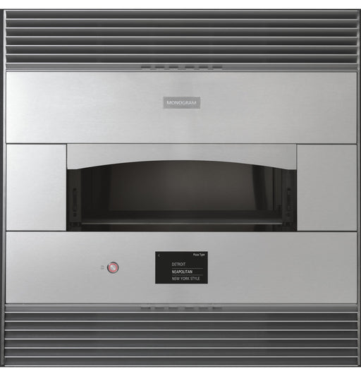 Monogram ZEP30FLSS 30-Inch Stainless Steel Flush Built-In Pizza Oven