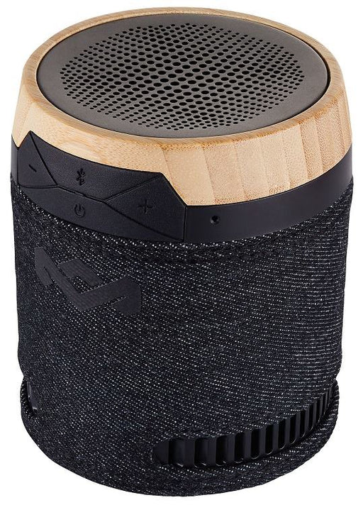 House of Marley Chant EM-JA008-SB Bluetooth portable audio speaker with microphone Black
