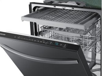 Samsung DW80R5061UG/AA Dishwasher with StormWash in Black Stainless Steel