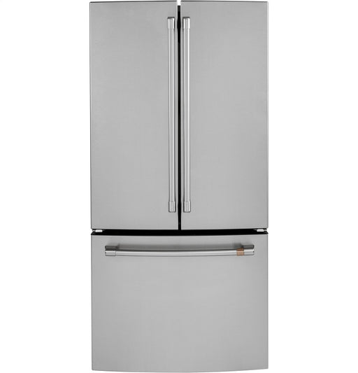 GE Cafe CWE19SP2NS1 33-Inch 18.6 Cu. Ft. Counter-Depth French Door Refrigerator in Stainless Steel