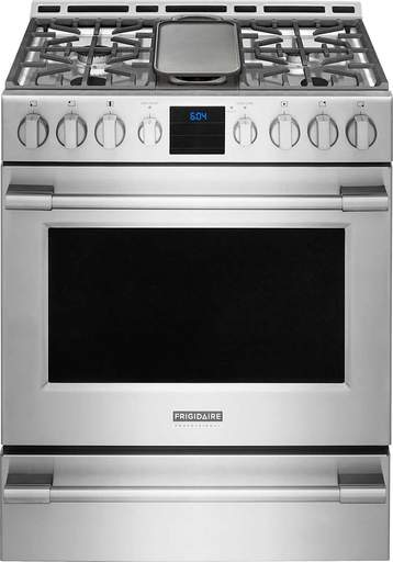 Frigidaire Professional FPGH3077RF 30'' Gas Front Control Freestanding - Stainless Steel - Smudge Proof - Range - Frigidaire Professional - Topchoice Electronics