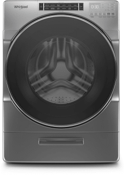 Whirlpool WFW8620HC 5.8 cu. ft. I.E.C. Front Load Washer with Load & Go™ XL Dispenser In Chrome Shadow