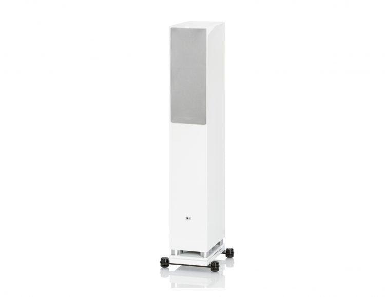 ELAC LINE 400 Series Floorstanding Speaker - White High Gloss - FS407-GW (Each) - Special Order - Speakers - ELAC - Topchoice Electronics