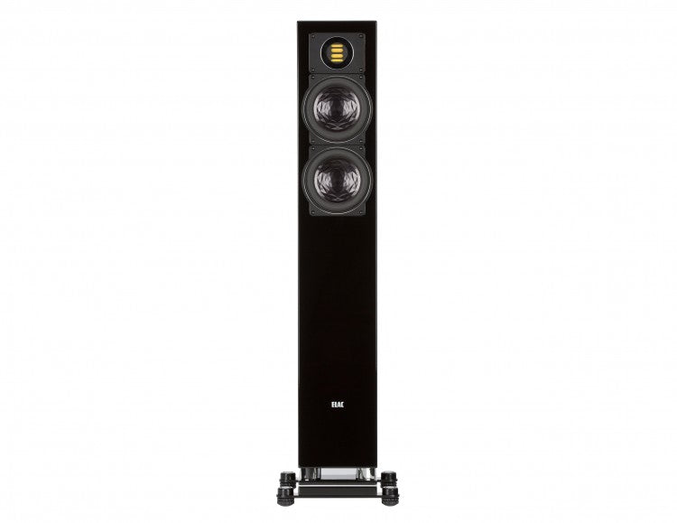 ELAC LINE 400 Series Floorstanding Speaker - Black High Gloss - FS407-GB (Each) - Special Order - Speakers - ELAC - Topchoice Electronics