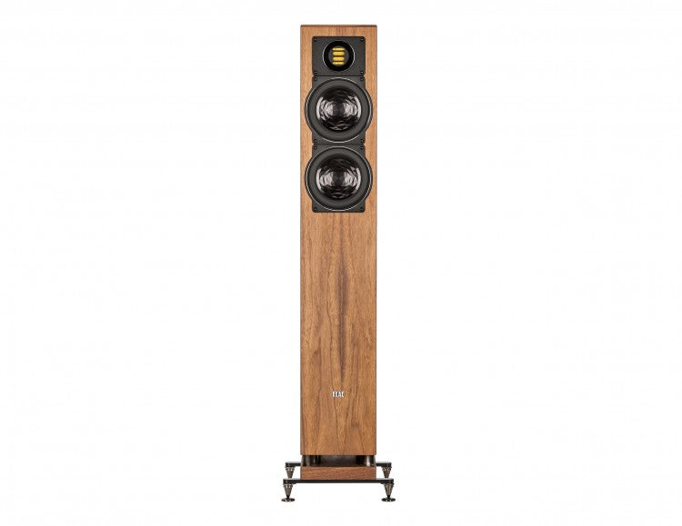 ELAC LINE 400 Series Floorstanding Speaker - Walnut High Gloss - FS407-GN (Each) - Special Order - Speakers - ELAC - Topchoice Electronics