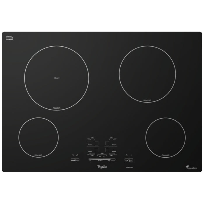 Whirlpool Gold 30-inch Electric Induction Cooktop