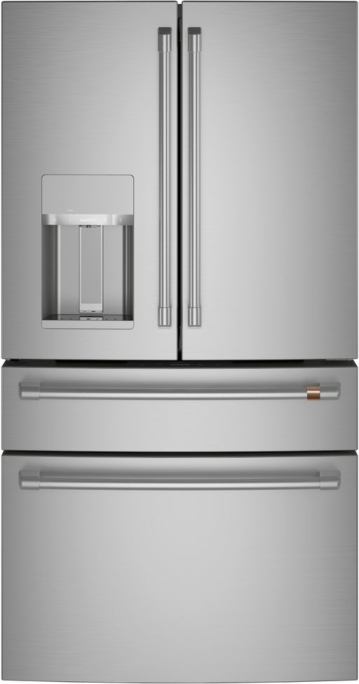 GE Cafe CVE28DP2NS1 ENERGY STAR® 27.8 Cu. Ft. Smart 4-Door French-Door Refrigerator In Stainless Steel