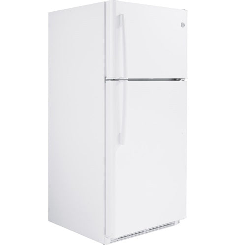 GE Cafe GTE18FTLKWW Energy Star 18 Cube Feet Top-Freezer, Frost-Free Refrigerator