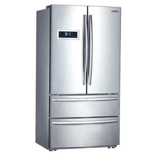 Thor Kitchen French Door Refrigerator in Stainless Steel - HRF3601F with 2 year warranty on parts and labor