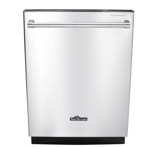 Thor Kitchen 24″ Dishwasher in Stainless Steel HDW2401SS with 2 year warranty on parts and labor