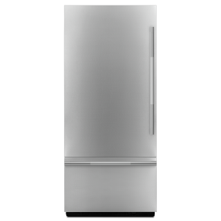 Jenn-Air JBBFL36NHL Pro-Style 36-Inch Fully Integrated Built-In Bottom-Freezer Left-Hand Door Swing Panel-Kit In Stainless Steel