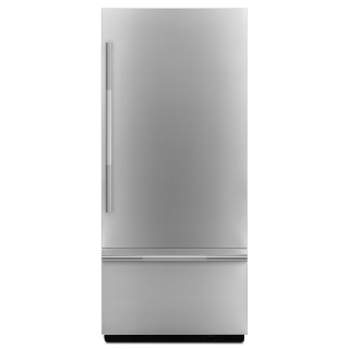 Jenn-Air JBBFR36NHL 36-Inch RISE Fully Integrated Built-In Bottom-Freezer Refrigerator Panel-Kit In Stainless Steel