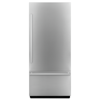 Jenn-Air JBBFR36NHM 36-Inch NOIR Fully Integrated Built-In Bottom-Freezer Refrigerator Panel-Kit In Stainless Steel