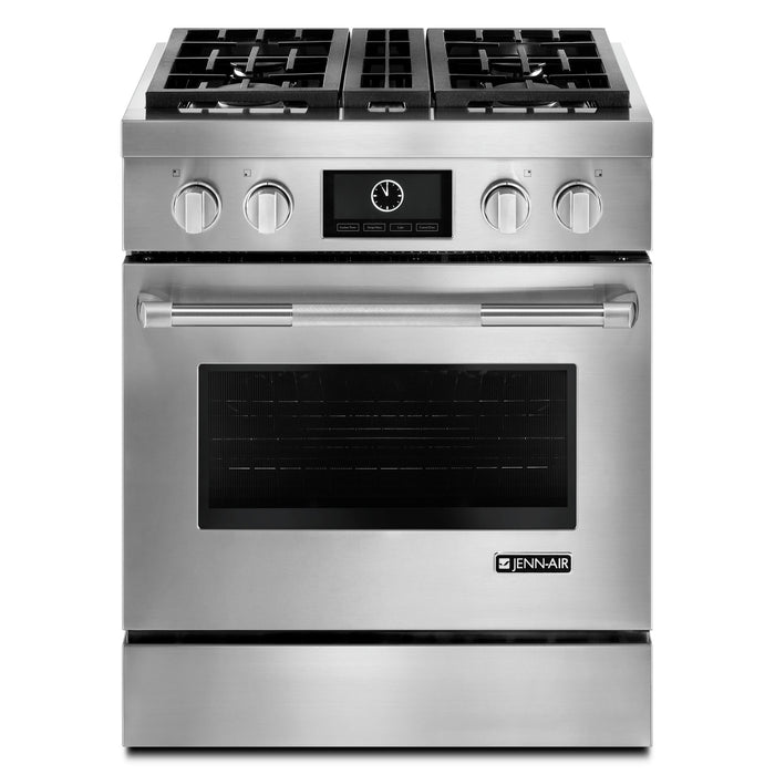 Jenn-Air Pro-Style Dual-Fuel Range with MultiMode Convection, 30""