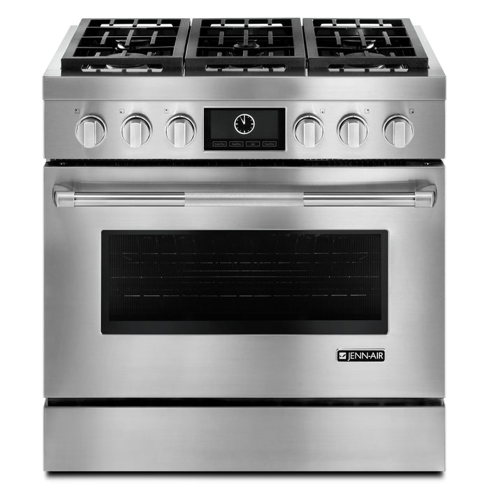 Jenn-Air Pro-Style Dual-Fuel Range with MultiMode Convection, 36""