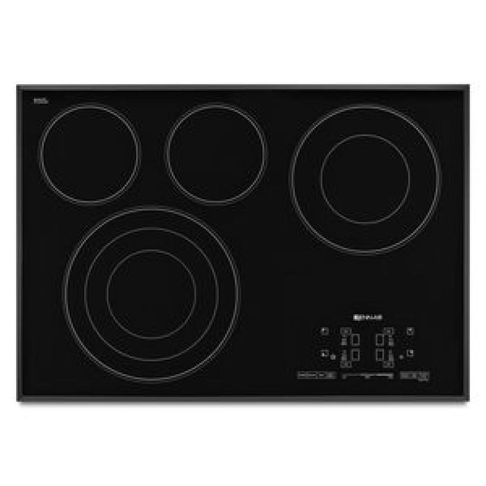 Jenn-Air 30-Inch Electric Radiant Cooktop with Glass-Touch Electronic Controls
