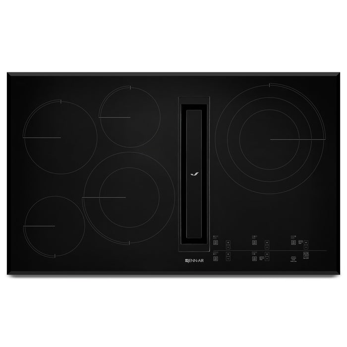 Jenn-Air 36 Inch JX3 Electric Downdraft Cooktop with Glass-Touch Electronic  Controls