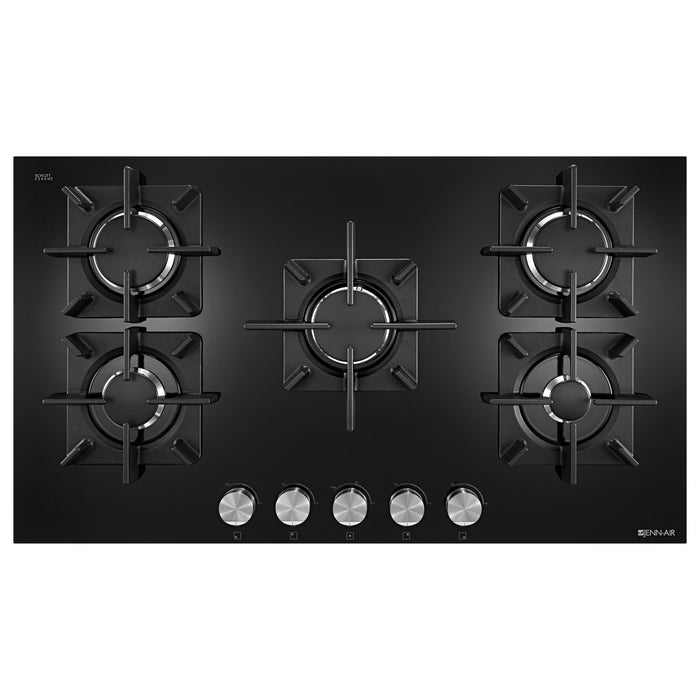 "Jenn-Air 36"", Glass 5-Burner Gas Cooktop"