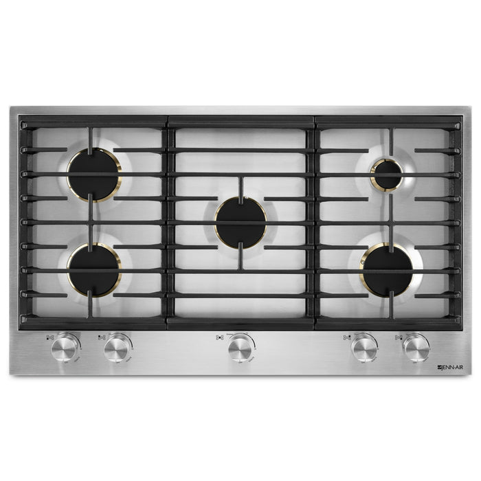 "Jenn-Air 36"" 5-Burner Gas Cooktop"