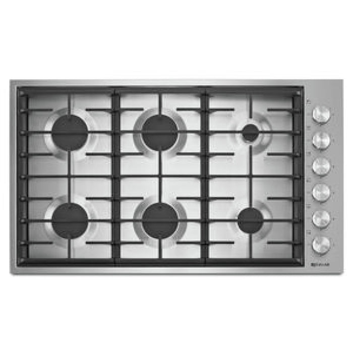 "Jenn-Air 36"", 6-Burner Gas Cooktop"