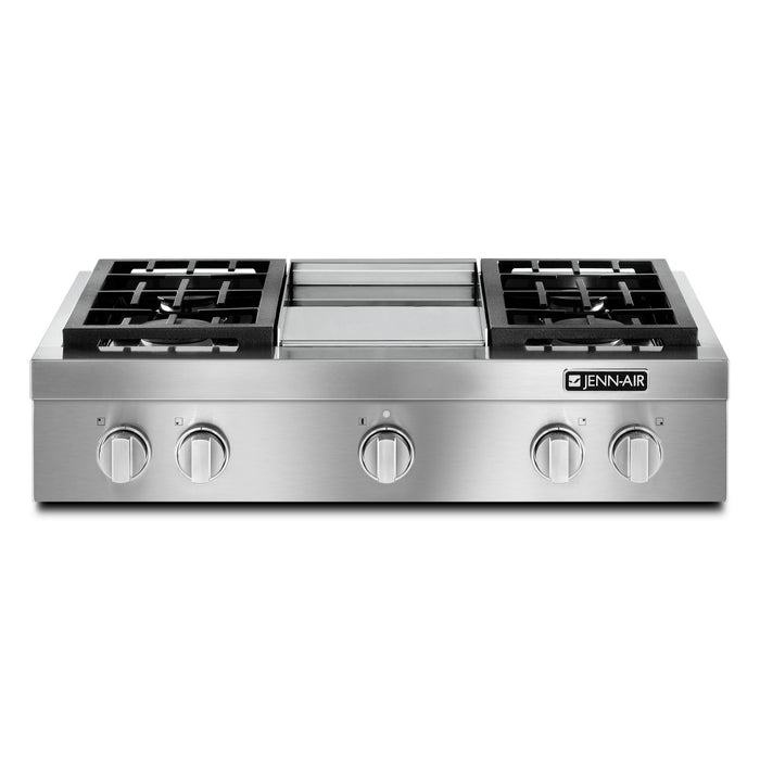Jenn-Air Pro-Style Gas Rangetop with Griddle, 36""