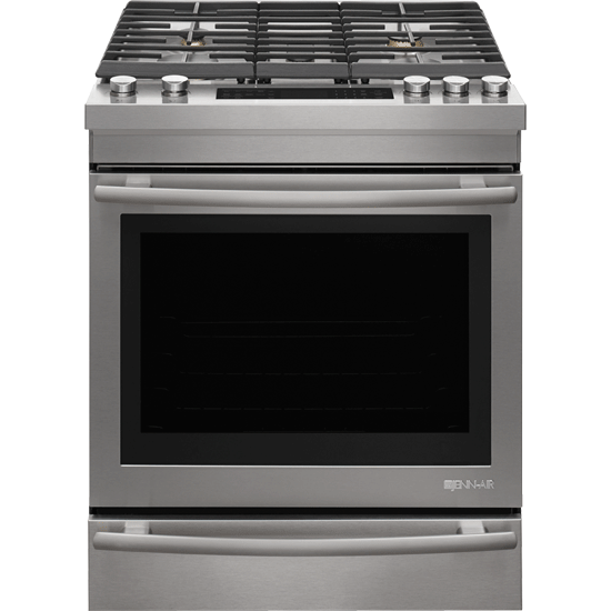 "Jenn-Air JGS1450FS 30"" Gas Range -  Euro-Style Stainless Handle - Range - Jenn-Air - Topchoice Electronics"