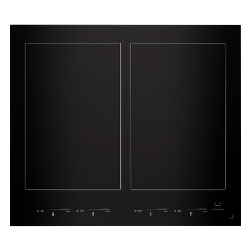 Jenn-Air JIC4724HB 24-Inch Oblivion Glass Induction Flex Cooktop In Floating Glass Black