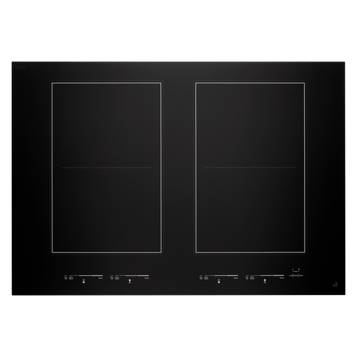 JennAir JIC4730HB 30-Inch Oblivion Glass Induction Flex Cooktop In Floating Glass Black