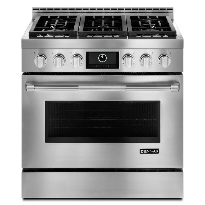 "Jenn-Air 36"" Pro-Style LP Range with MultiMode Convection System"