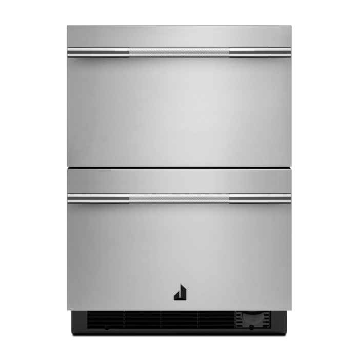Jenn-Air JUCFP242HM 24-Inch NOIR Double Drawer Refrigerator/Freezer In Stainless Steel