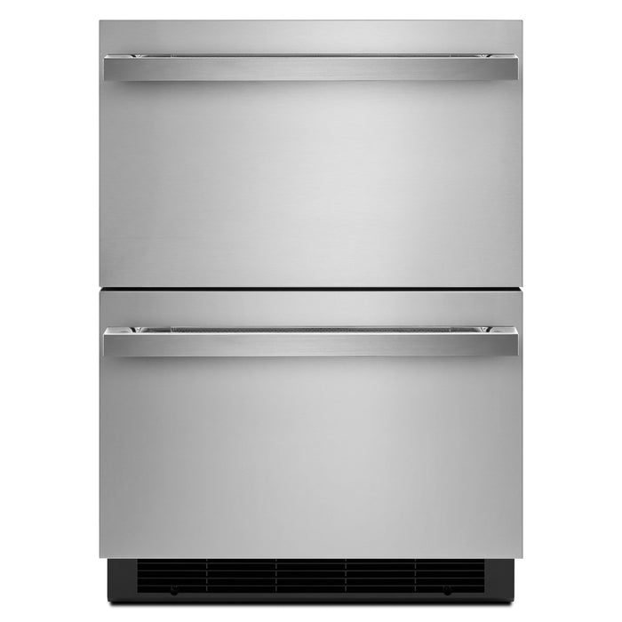 "Jenn-Air 24"" Double-Refrigerator Drawers"