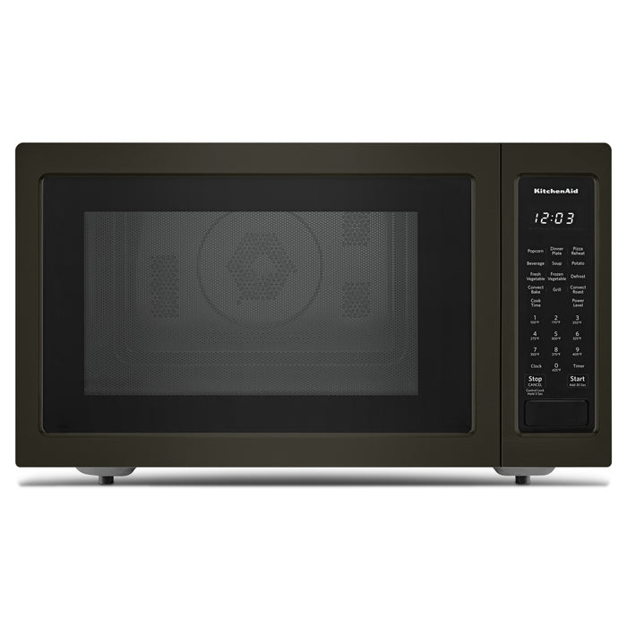 "KitchenAid 21 3/4"" Countertop Convection Microwave Oven with PrintShield Finish - 1000 Watt"