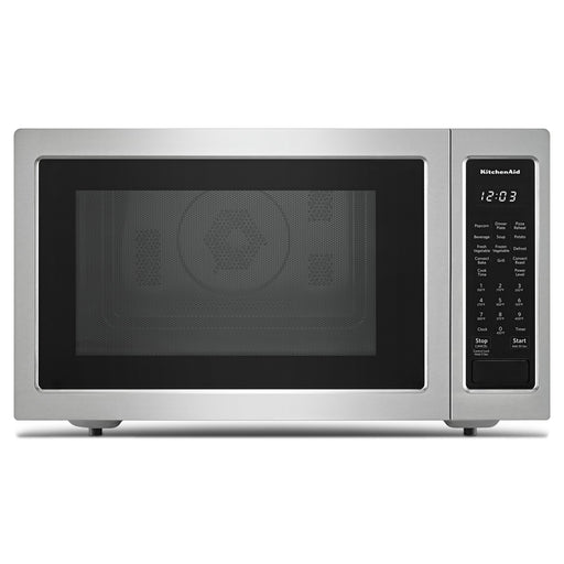 "KitchenAid 21 3/4"" Countertop Convection Microwave Oven - 1000 Watt"