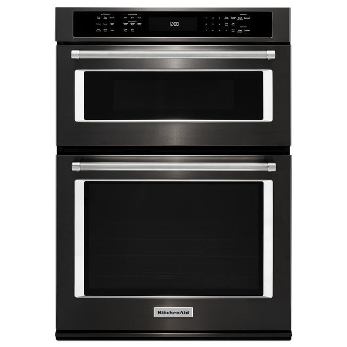 "KitchenAid 30"" Combination Wall Oven with Even-Heat True Convection (Lower Oven)"